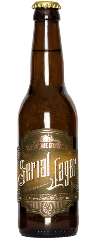 Orville SERIAL LAGER BLONDE 33cl