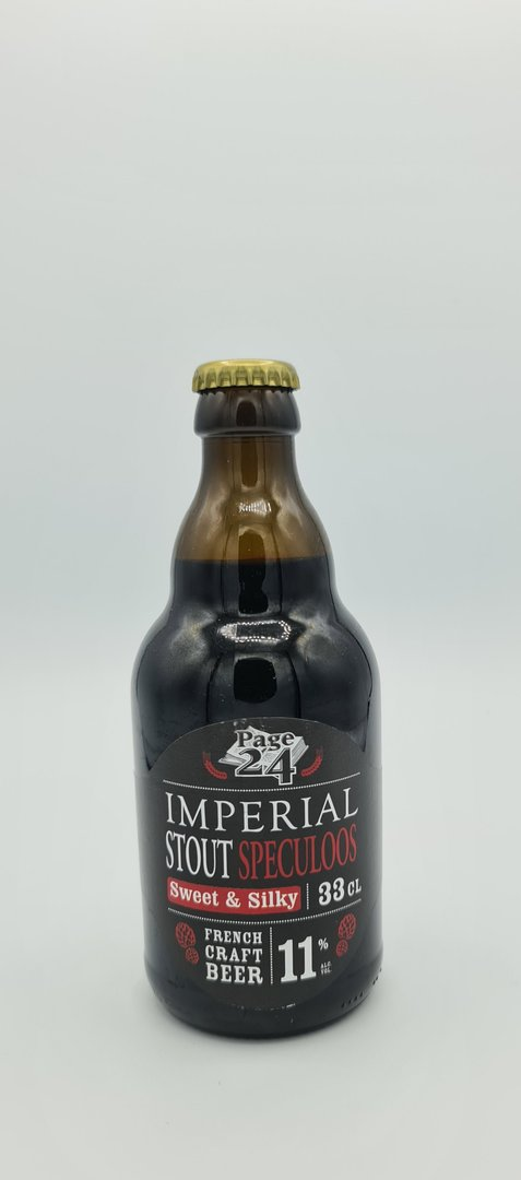 St Germain PAGE 24 IMPERIAL STOUT SPECULOOS 33cl